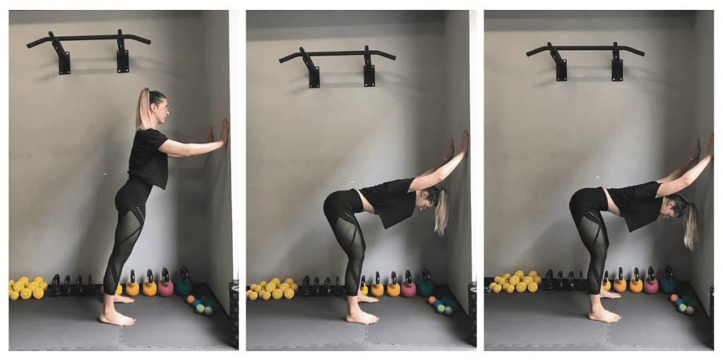 Vježba za istezanje donjeg dijela leđa