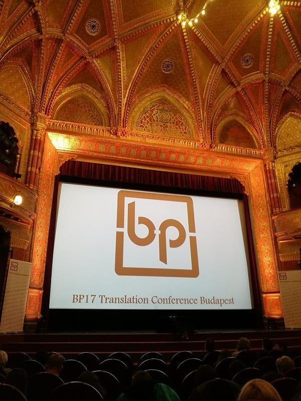 BP translation konferencija za prevoditelje održana je u kinu Urania u Budimpešti