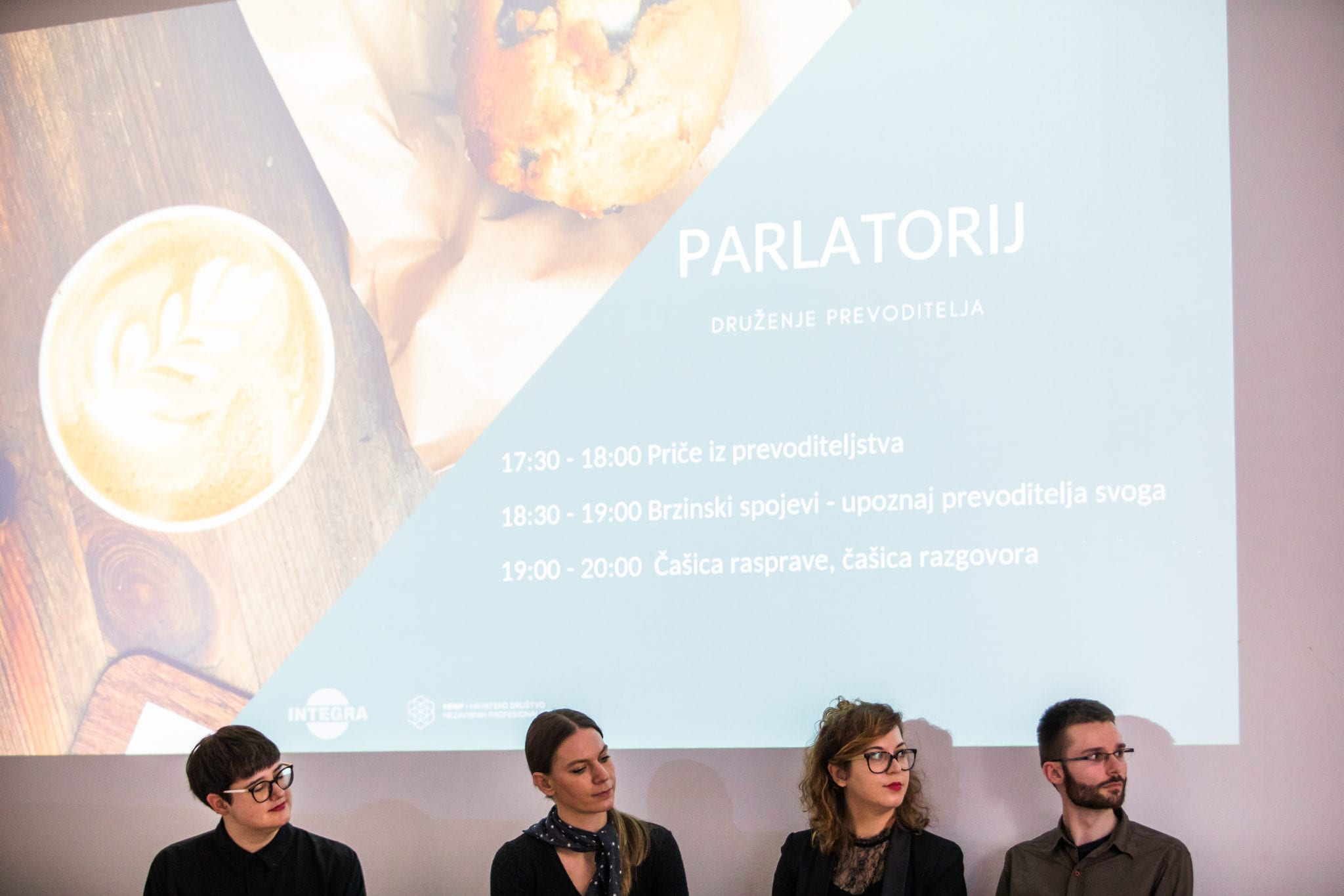 Druženje prevoditelja - Parlatorij